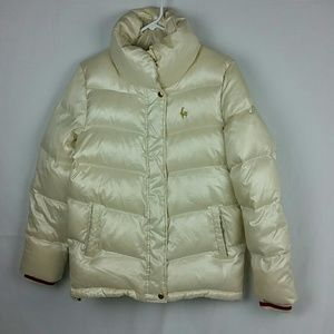 Le Coq Sportif down puffer roughly size M
